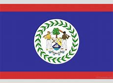 National Flag Of Belize 123Countriescom