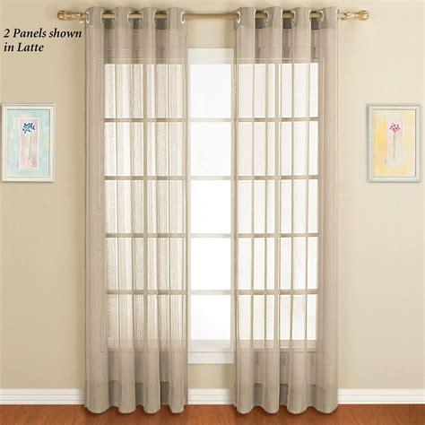 dakota sheer grommet curtain panels