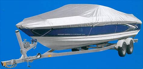 bache pour bateau moteur 427 a 488cm largeur 180cm paname marine