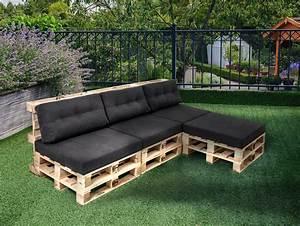 Paletten Möbel Garten : paletti ecksofa 3 sitzer aus paletten fichte natur ohne armlehnen ~ Markanthonyermac.com Haus und Dekorationen