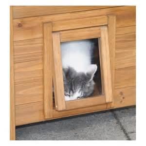 maisonnette en bois lodge d int 233 rieur ou d ext 233 rieur pour chats accessoires pour le couchage