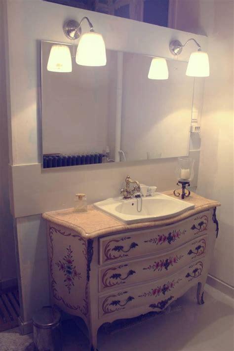 ancienne commode de cagne revisit 233 e par luminance design vasque retro meuble