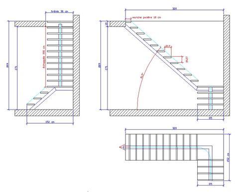 calcul escalier 1 4 tournant avec palier de repos
