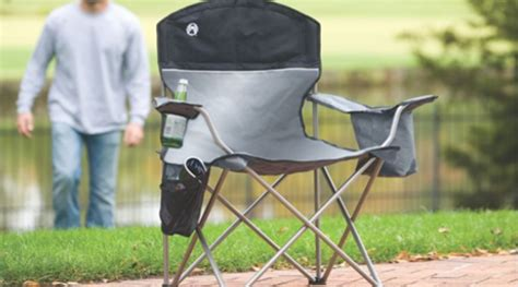 coleman oversized chair with built in cooler up to 60 today only
