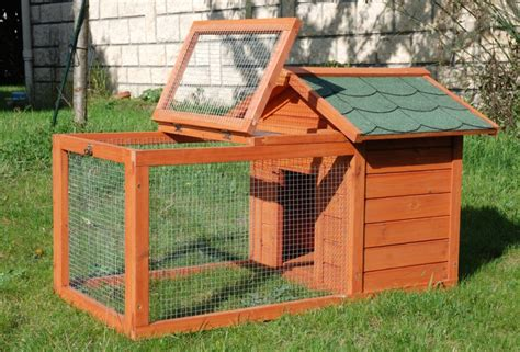 cage bois pour lapin et cochon d inde home animaloo