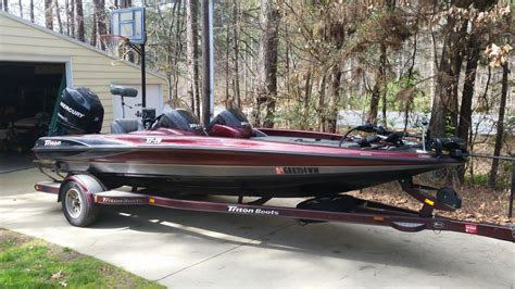 Used Triton Bass Boats For Sale In Georgia by Triton Tr19 Dual Console Boats For Sale In Georgia