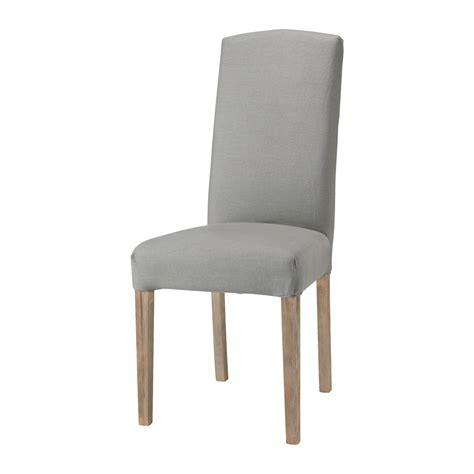 housse de chaise grise