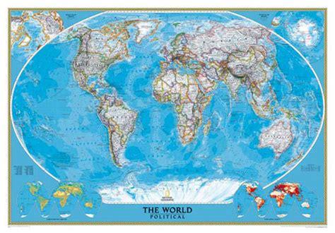 carte du monde de la srie classic ou carte monde