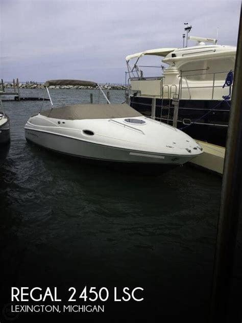 Boats For Sale In Lexington Mi by Canceled Regal 2450 Lsc Boat In Lexington Mi 114163