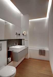 Led Beleuchtung Badezimmer : bild von led beleuchtung bad badezimmer modern einrichten abgeh ngte decke indirekte ~ Markanthonyermac.com Haus und Dekorationen