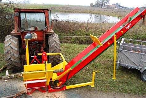 scie circulaire 224 chevalet sur tracteur rabaud