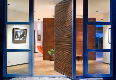 Contemporary House Entrance Design