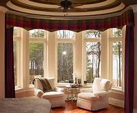 valances window treatments Bay Window Curtains Ideas for Privacy and Beauty ...