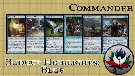 best blue edh commander cards for 5 mtg