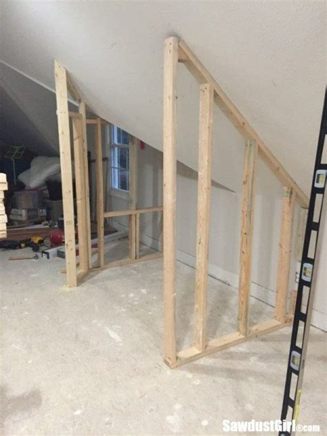 building a closet around wonky angled ceilings sawdust 174