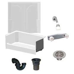54 x 27 bathtub home depot mobile home shower with 2 fiberglass surround