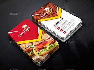 Fast Food Business Card by generousart | GraphicRiver