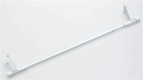 tringle blanche extensible press go sans percage blanc