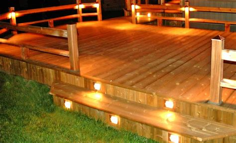 Patio And Deck Lighting Ideas by Deck Design Ideas