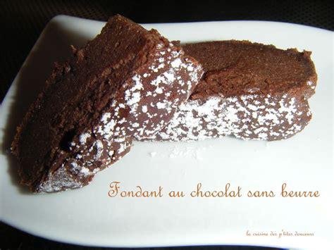 fondant au chocolat sans beurre la cuisine des p tites douceurs
