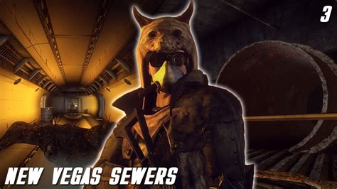 New Vegas Mods New Vegas Sewers  Part 3 Youtube