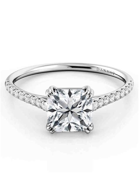 Asschercut Diamond Engagement Rings  Martha Stewart Weddings. Celebrity Gold Rings. Nc State Rings. Rounded Wedding Rings. Victorian Age Engagement Rings. The Good Wife Wedding Rings. Story Wedding Rings. Vampire Rings. Tantalum Wedding Rings