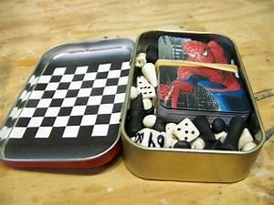 Altoids Tin Travel Games - Pocket Size Fun | Reuse, Box ...