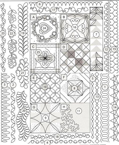 Triangle Quilt Border Templates by 25 Unique Machine Quilting Patterns Ideas On Pinterest