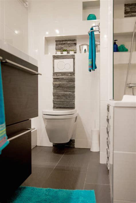 photos de salle de bain de style moderne salle de bains wc suspendu parement