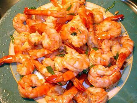 recette de crevettes marin 233 e de jo