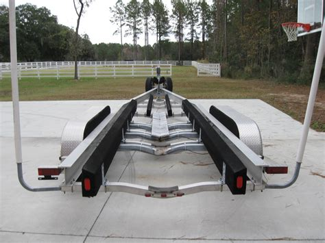 Boat Trailer Triple Axle Used by Triple Axle Magic Tilt Custom Trailer 35 38ft The Hull