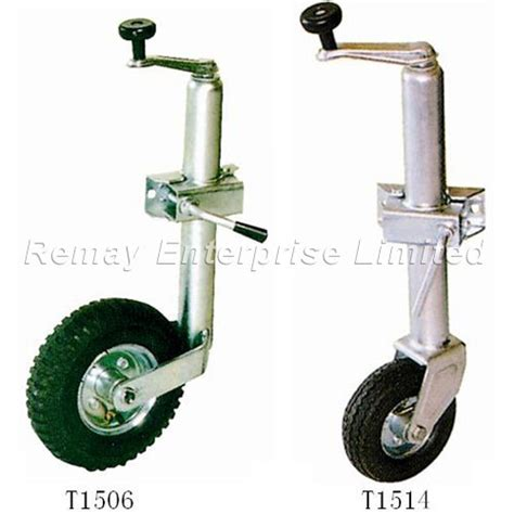 Boat Trailer Jack With Pneumatic Tire by China Trailer Jack Jockey Wheel T1506 T1514 Photos