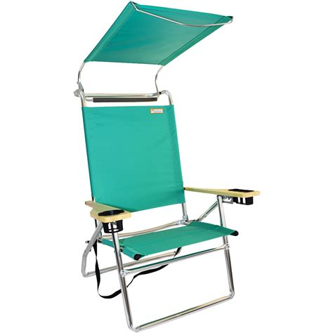 canopy hi seat aluminum chair mint green canopy