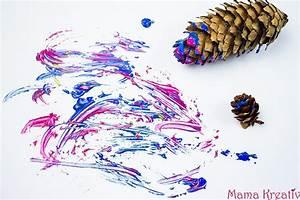 Kinder Bilder Malen : 6 ideen zum malen im winter mit kindern video mama kreativ ~ Markanthonyermac.com Haus und Dekorationen
