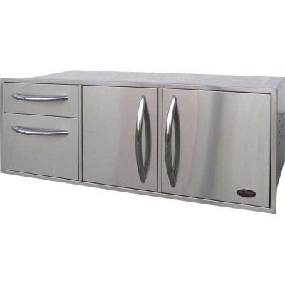 Home Depot Outdoor Storage Cabinets by Newage Products Stainless Steel Classic 9 Piece 184x36x24