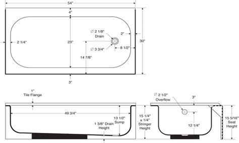 Standard bath tub, standard tub dimensions size tub