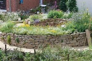 Wie Baue Ich Ein Gartenhaus : ein hochbeet aus naturstein selber bauen bei ~ Markanthonyermac.com Haus und Dekorationen