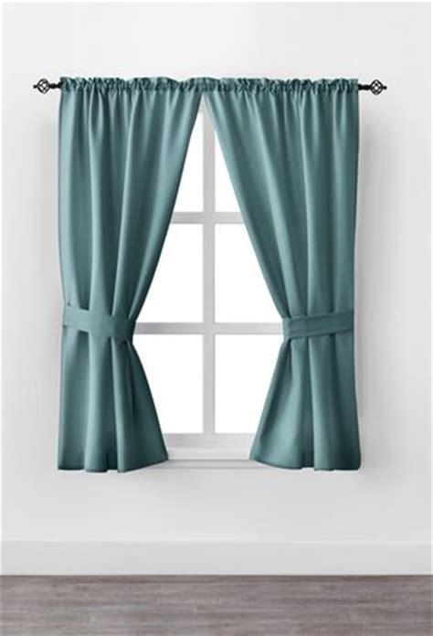 Window Curtains Walmartca by Mainstays 63 Quot Rod Pocket Window Curtain Drapery