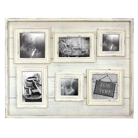 cadre photo tangeri multi vues avec 6 photos bois 10 x 10 cm