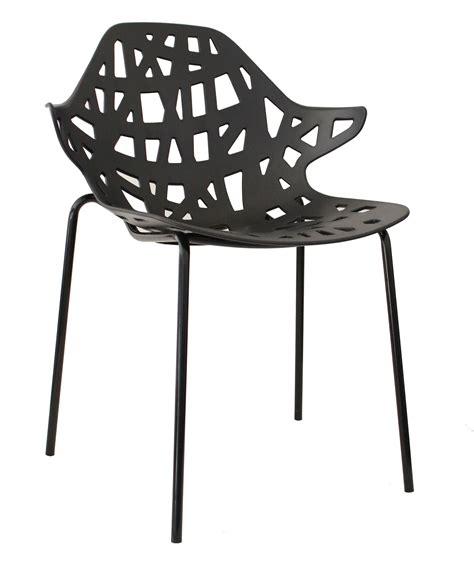 chaise noir pas cher