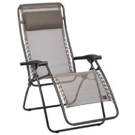 fauteuil relax rsxa havane lafuma achat vente chaise longue transat fauteuil relax