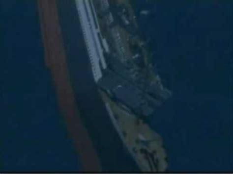 titanic sinking animation