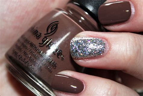 China Glaze Gray Nail Polish