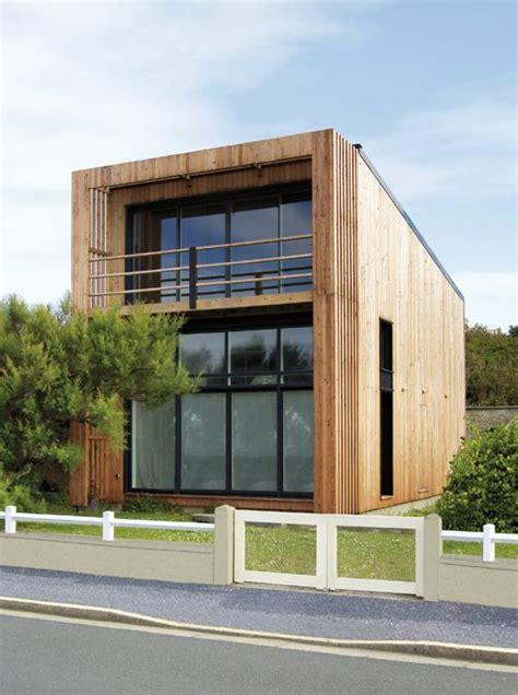 maisons 224 toit plat en ossature bois
