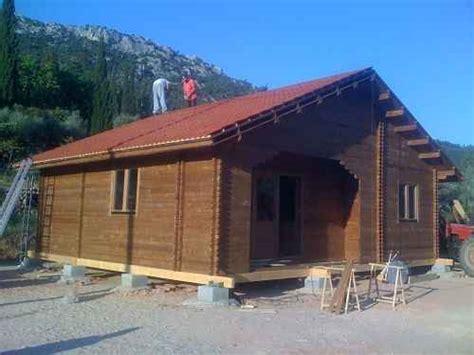 chalet en bois habitable terrasse en bois