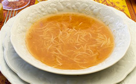 soupe de vermicelles et carotte wecook