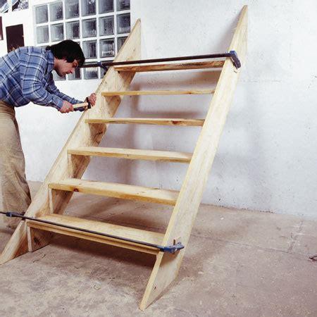 comment fabriquer un escalier d ext 233 rieur en bois bricobistro