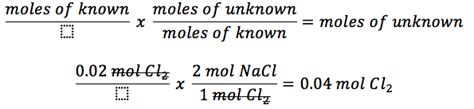 Stoichiometric Calculations  Lovejoy Pre Ap Chemistry
