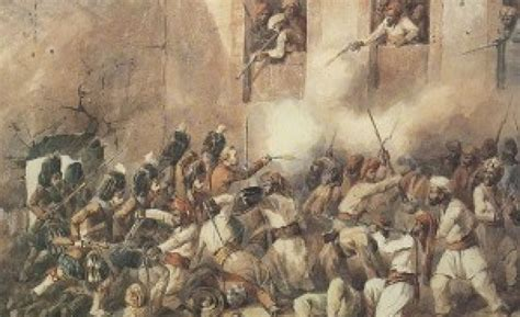 Role Of The Sikhs In The Mutiny Of 1857 Sikhnet