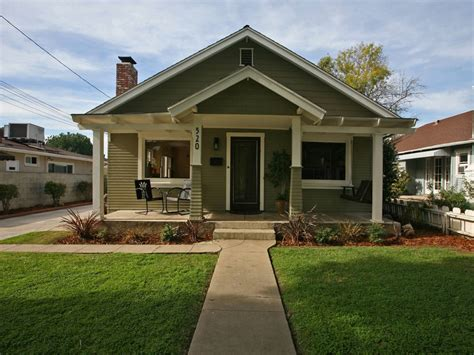 California Bungalow Style House Modern Bungalow Style